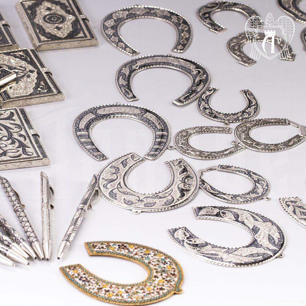 Серебряная подкова «Очаг» Апанде, 4400022