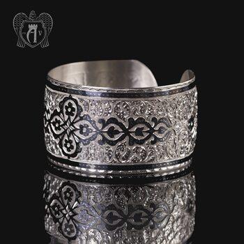 Браслет из серебра кубачинский «Катерина»