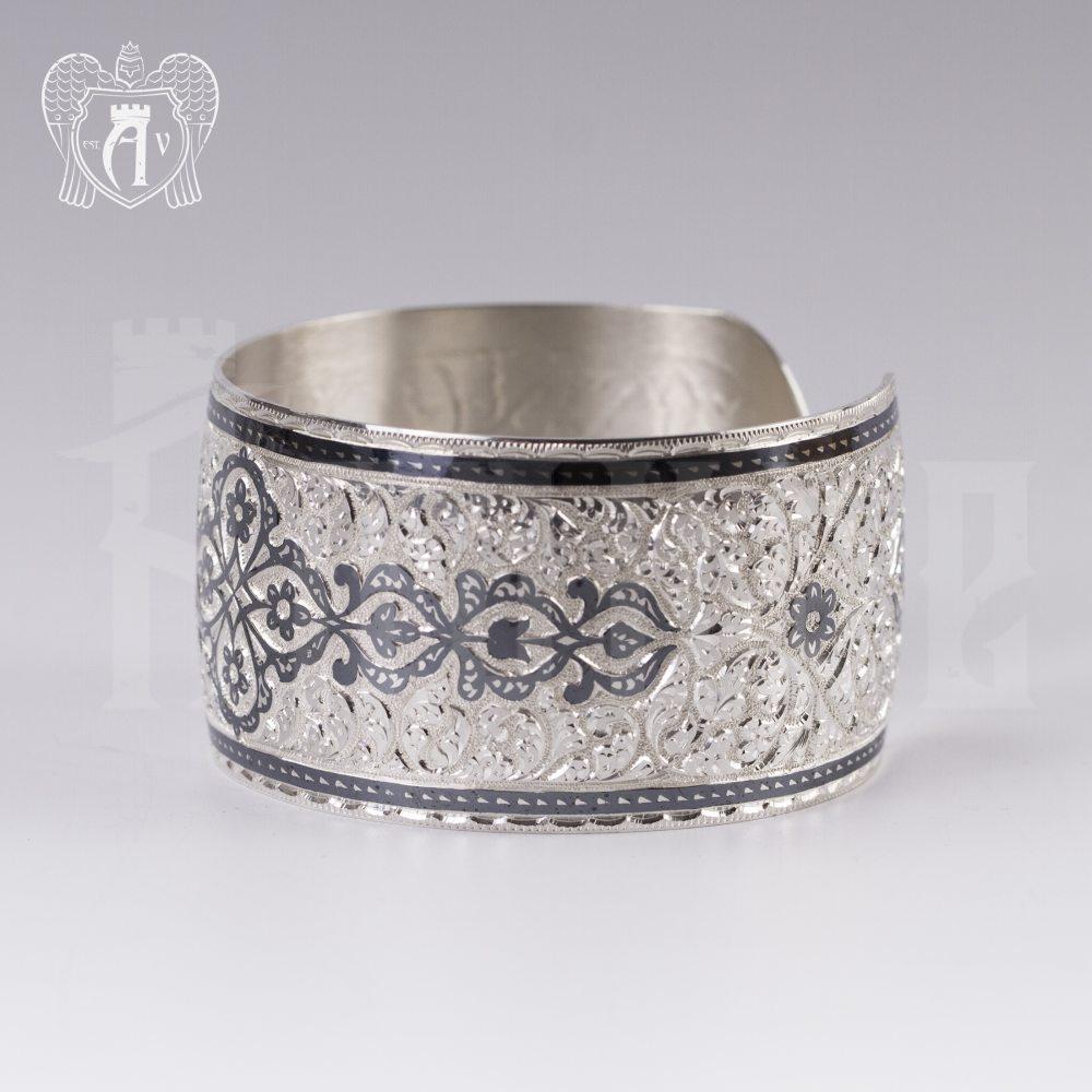 Браслет из серебра кубачинский «Катерина» Апанде, 23000423126
