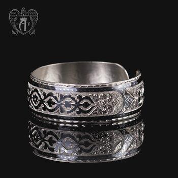 Браслет из серебра кубачинский «Мимоза»