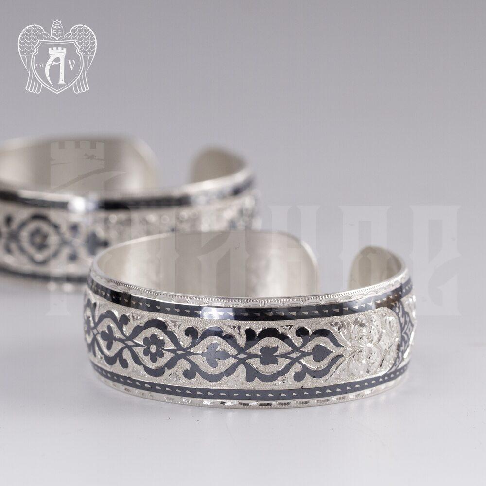 Браслет из серебра кубачинский «Мимоза» Апанде, 23000423128