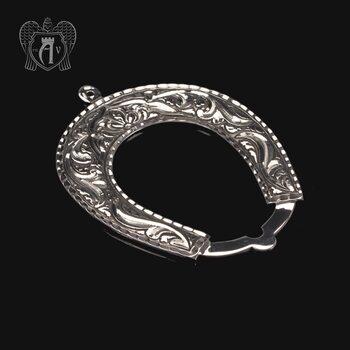 Серебряная подкова «Счастливый дом»