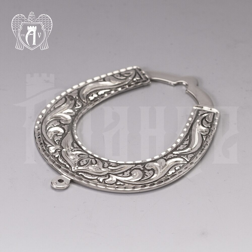 Серебряная подкова «Счастливая» Апанде, 4400032
