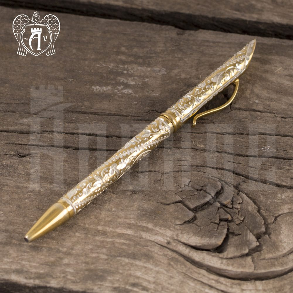 Ручка серебряная «Злата» Апанде, 13003229
