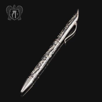 Ручка серебряная «Диамант»