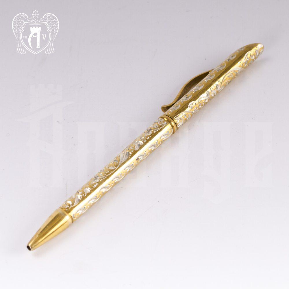 Ручка серебряная «Винтаж» Апанде, 13003228