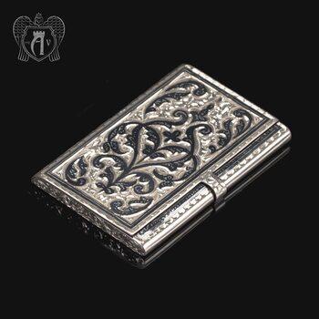 Визитница серебряная «Традиция»