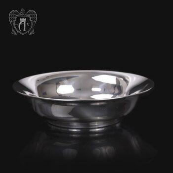 Тарелка из серебра 999 пробы