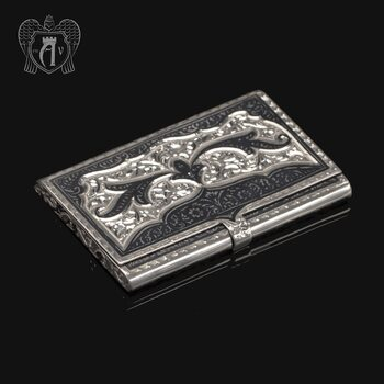 Визитница серебряная «Граф»