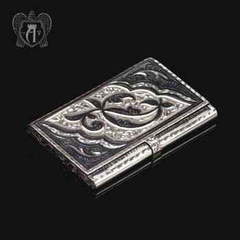 Визитница серебряная «Симфония»