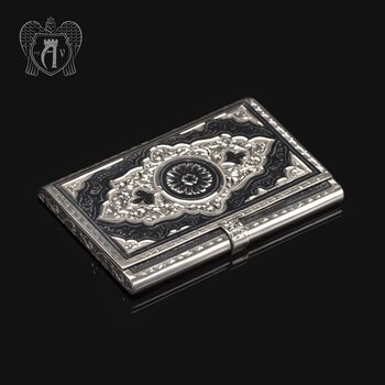 Визитница серебряная «Маркиз»