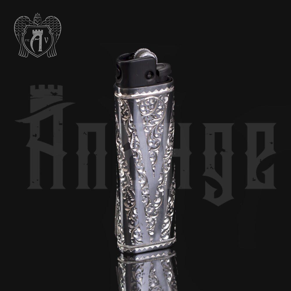 Зажигалка серебряная «Огниво» Апанде, 5500010