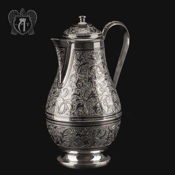 Большой кувшин для напитков из серебра «Гранд» 925 пробы