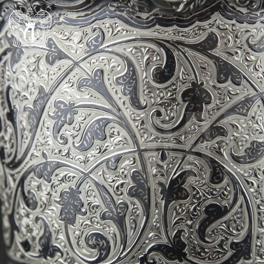 Ведерко из серебра (для льда) для шампанского «Козерог» Апанде, 9190021