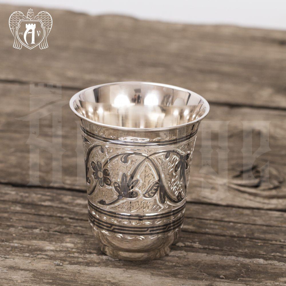 Набор стаканов из серебра 925 пробы  «Тюльпан» Апанде, 71000440