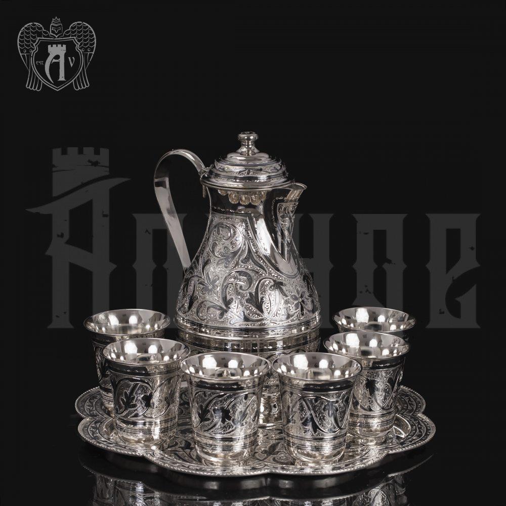 Серебряный сервиз для воды «Тюльпан» Апанде, 1110006166
