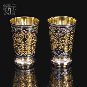 Набор серебряных стаканов «Осирис»