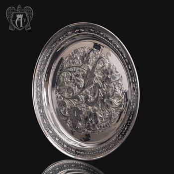 Поднос и серебра 925 пробы «Краса Востока»