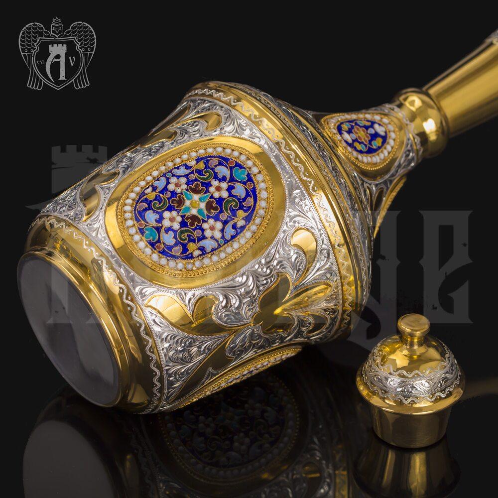 Серебряный графин с позолотой «Императорский» Апанде, 54005023