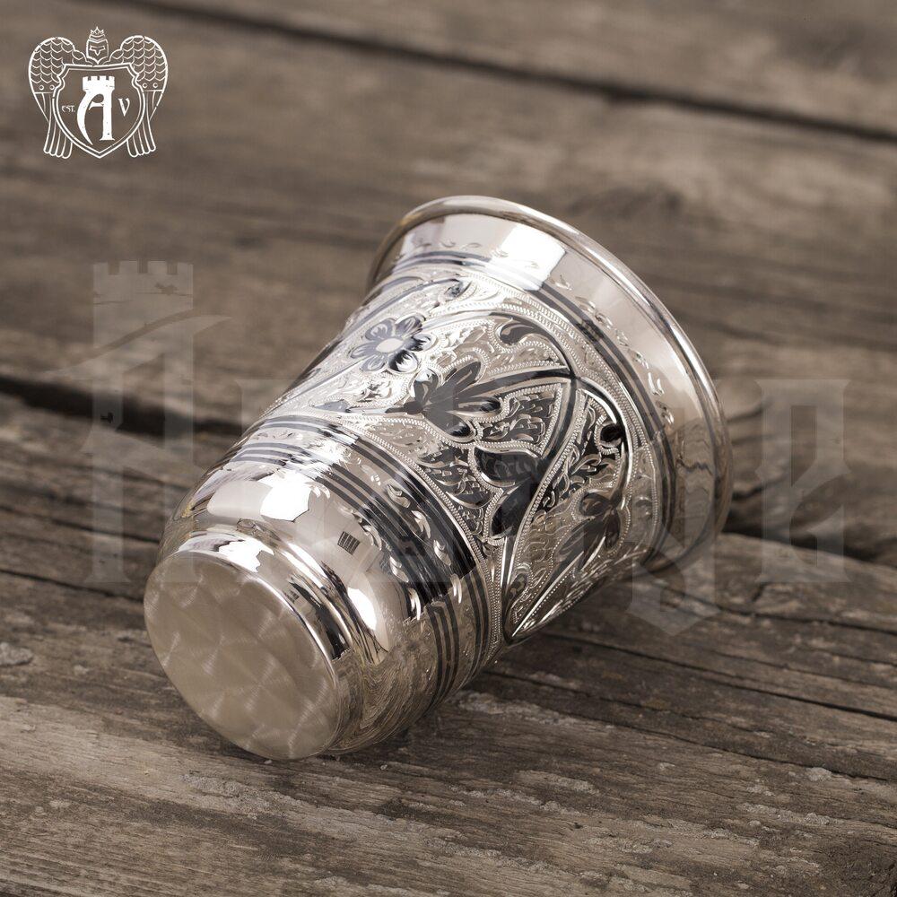 Серебряный стакан «Классика» 925 пробы Апанде, 71000440