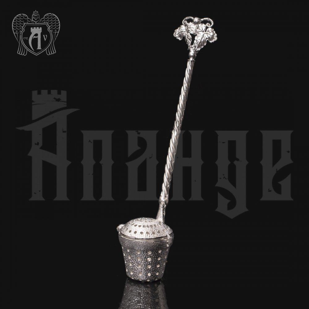 Серебряный заварник для чая  «Ведерко» Апанде, 9001006