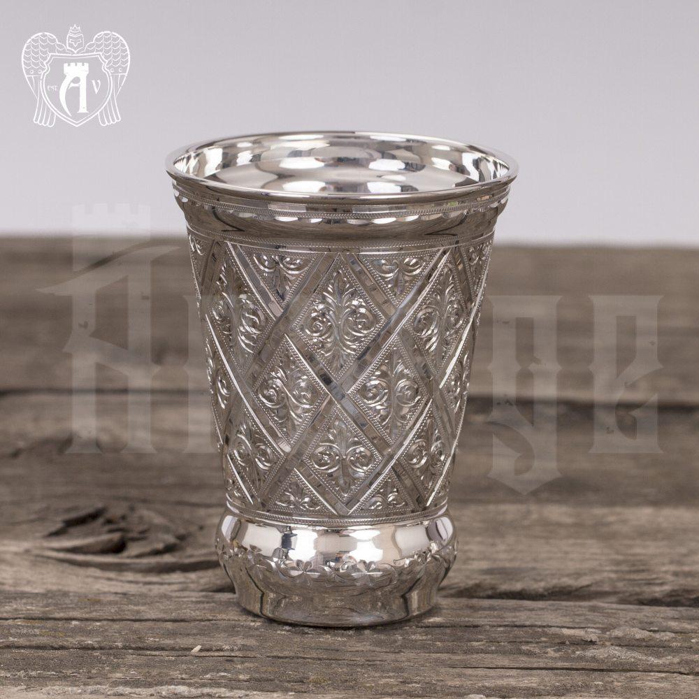 Стакан серебряный «Хрустальный родник»  999 пробы Апанде, 71000450