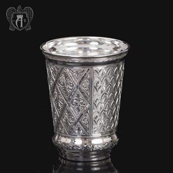 Серебряный стакан «Кристалл» из чистого серебра 999 пробы