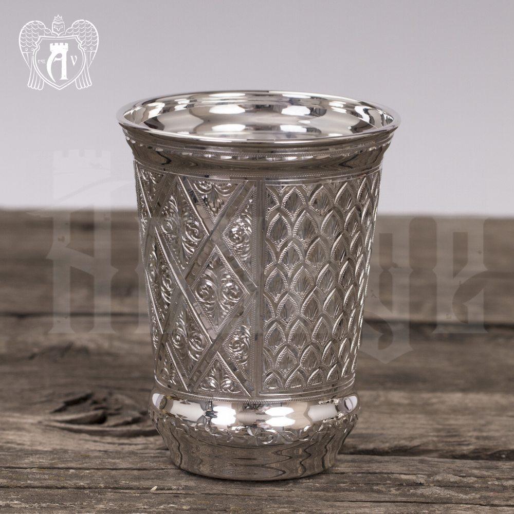Серебряный стакан «Кристалл» из чистого серебра 999 пробы Апанде, 71000555