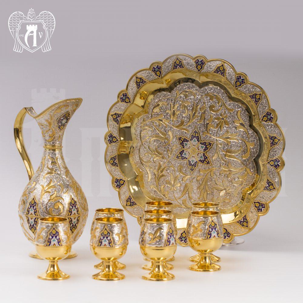 Сервиз из серебра винный «Флоренция» Апанде, 111005343