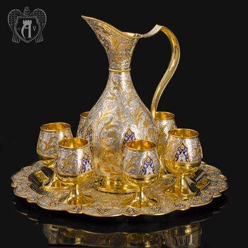 Сервиз из серебра винный «Флоренция»