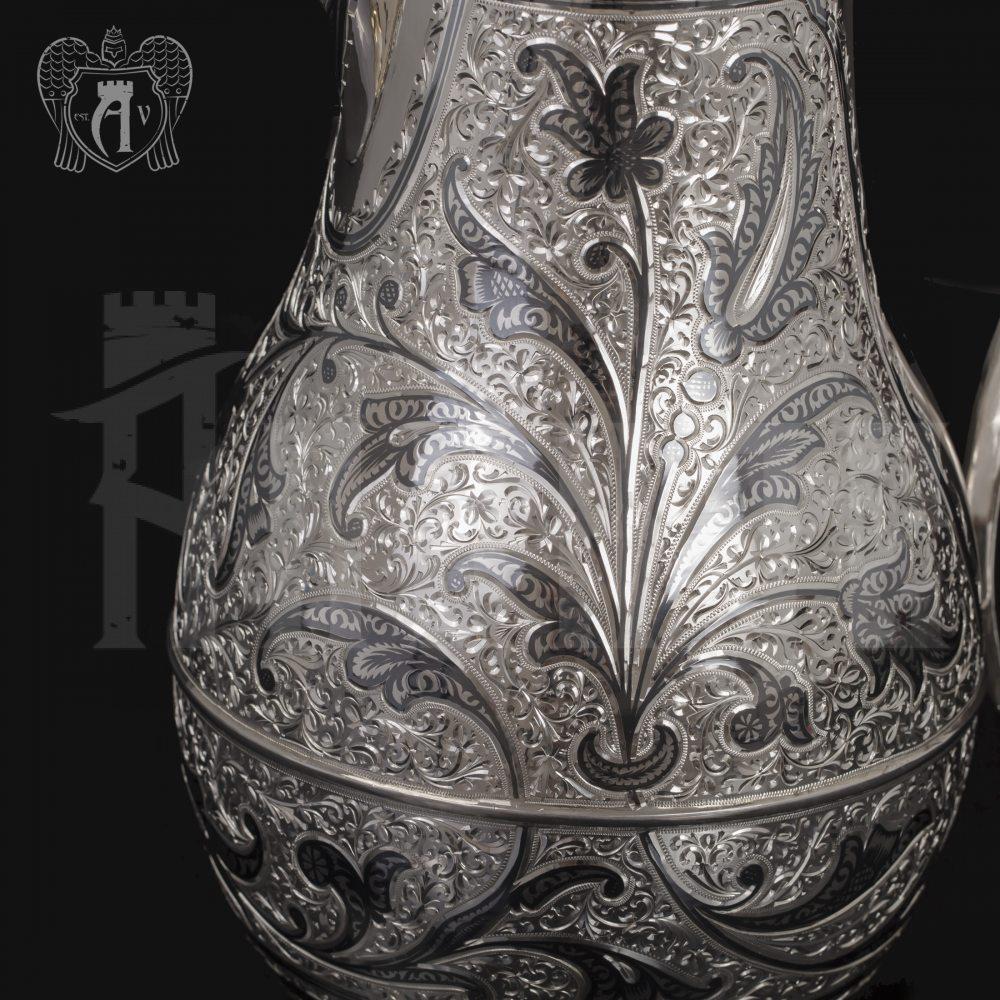 Большой кувшин для напитков из серебра «Колосс»  Апанде, 54000781