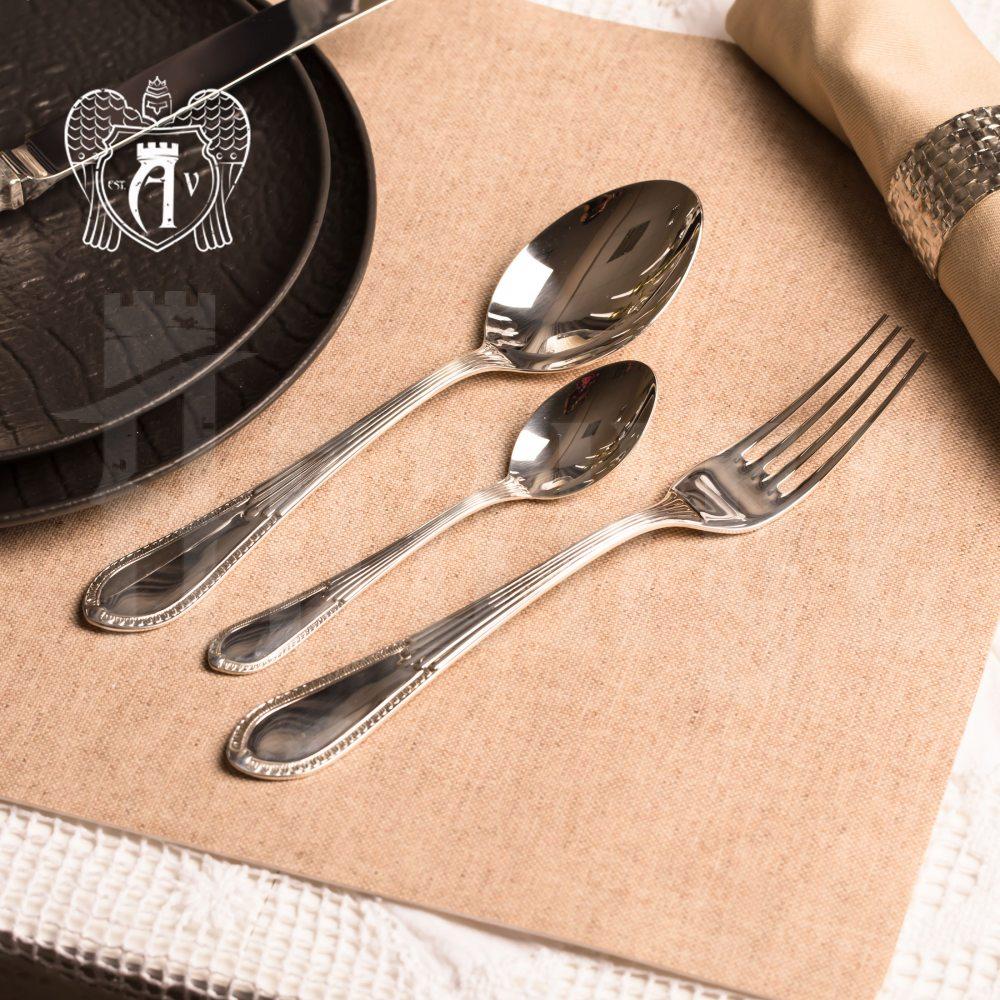 Десертный набор столового серебра «Элегант» 24 предмета Апанде, 22000212-29