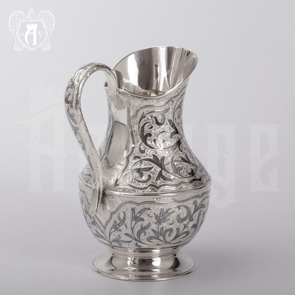 Кувшин без крышки из серебра «Дионис» Апанде, 540032
