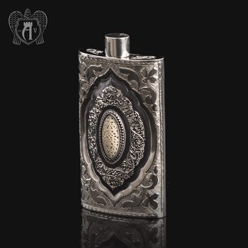 Серебряная фляжка  «Султан»