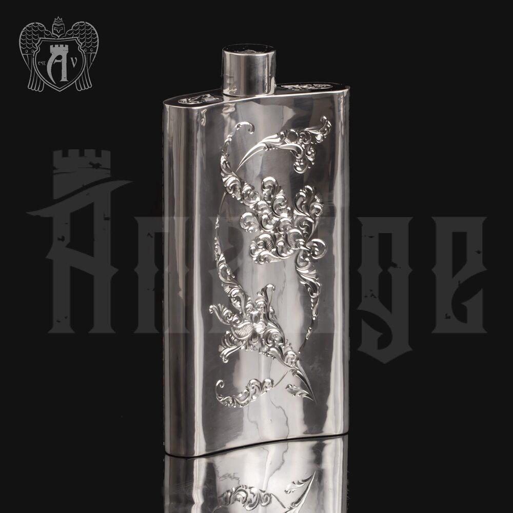 Серебряная фляжка  «Султан»  Апанде, 72000197