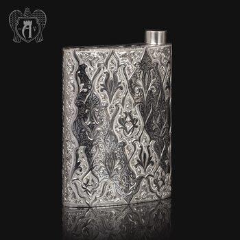 Серебряная фляжка  «Восток»