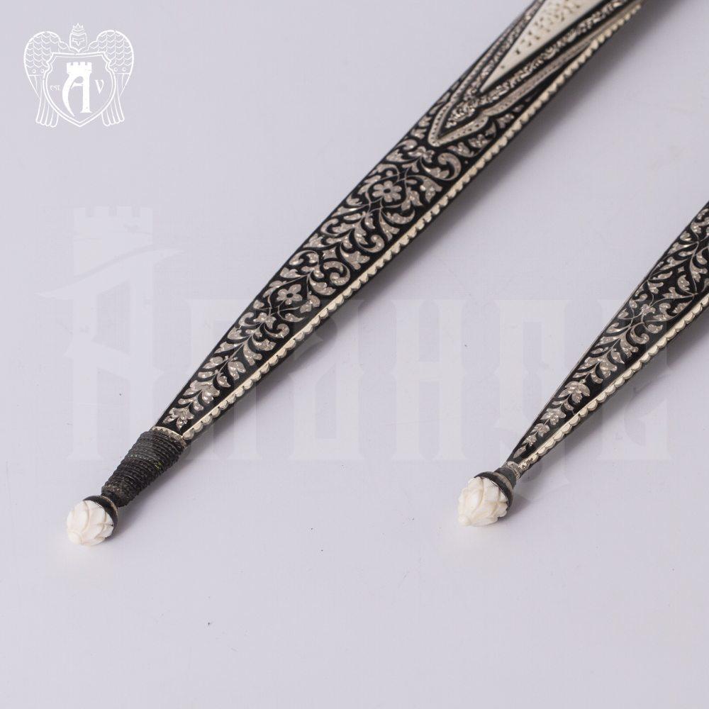Кинжал из серебра  «Норд» Апанде, 4500061