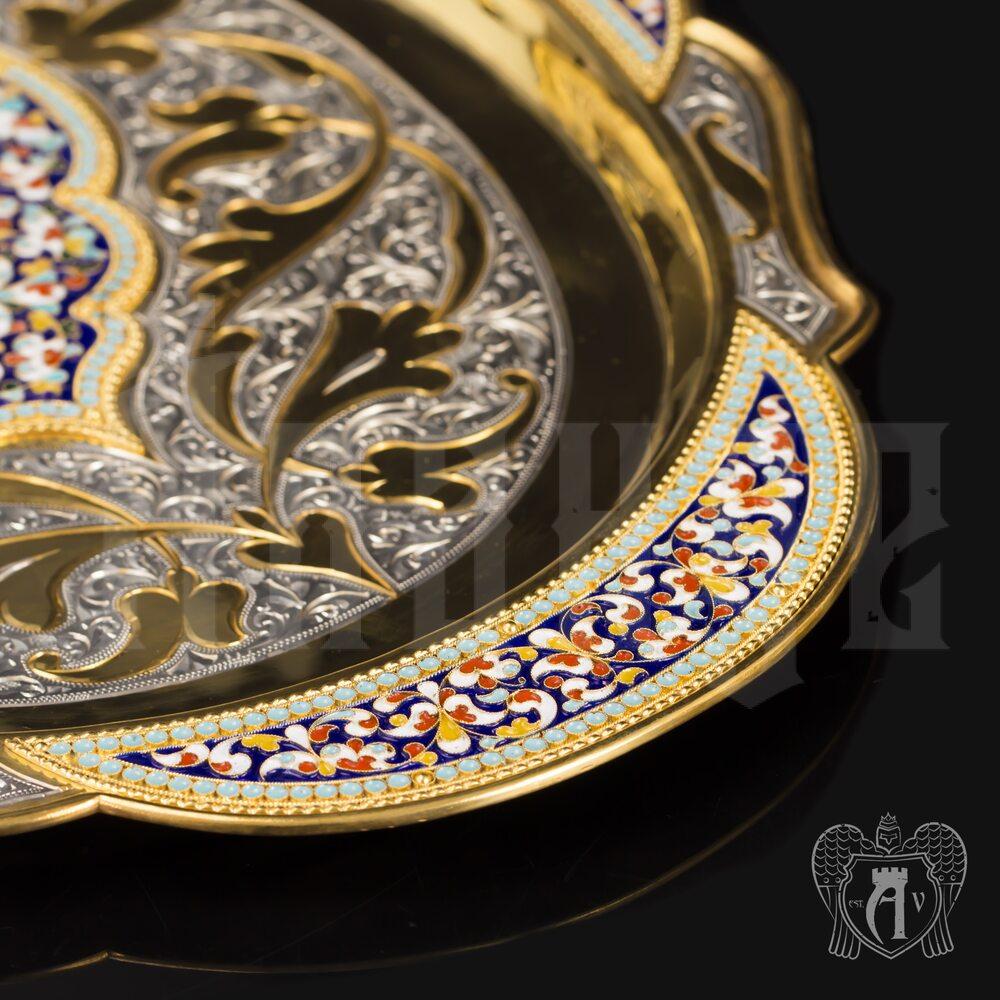 Винный сервиз из серебра с позолотой и эмалью «Империал» Апанде, 111005344