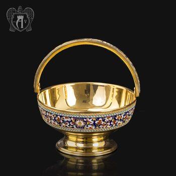 Серебряная конфетница « Графская»