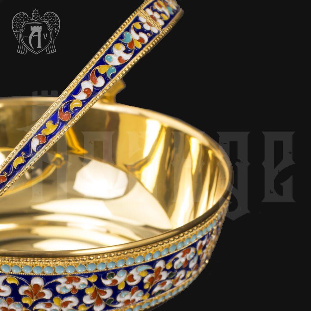 Серебряная конфетница « Графская» Апанде, 350003151