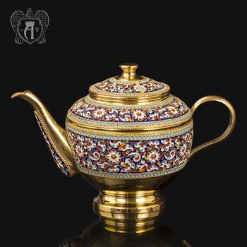 Чайник серебряный заварочный «Графский»