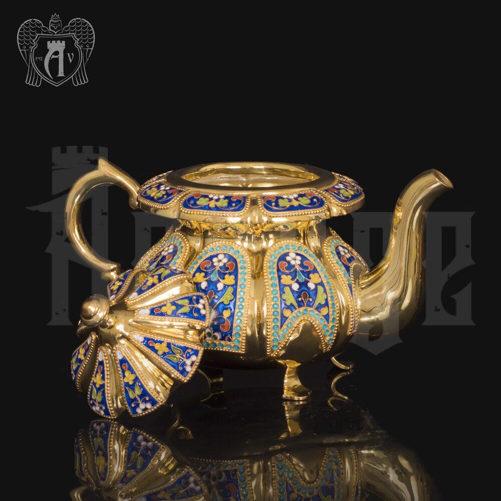 Заварочный чайник серебряный «Наполеон» Апанде, 2500011