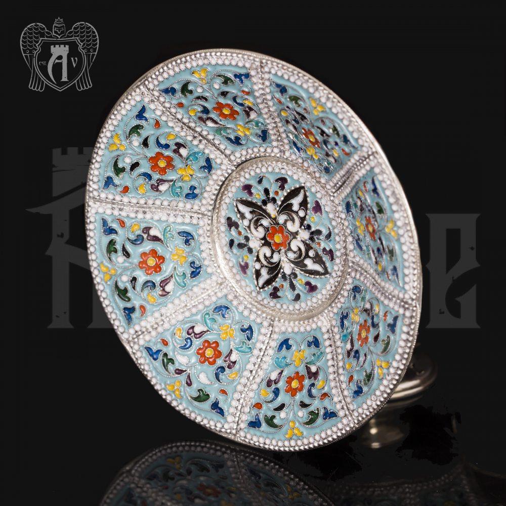 Чайные пары набор «Калейдоскоп « с эмалью 4  шт Апанде, 32009129