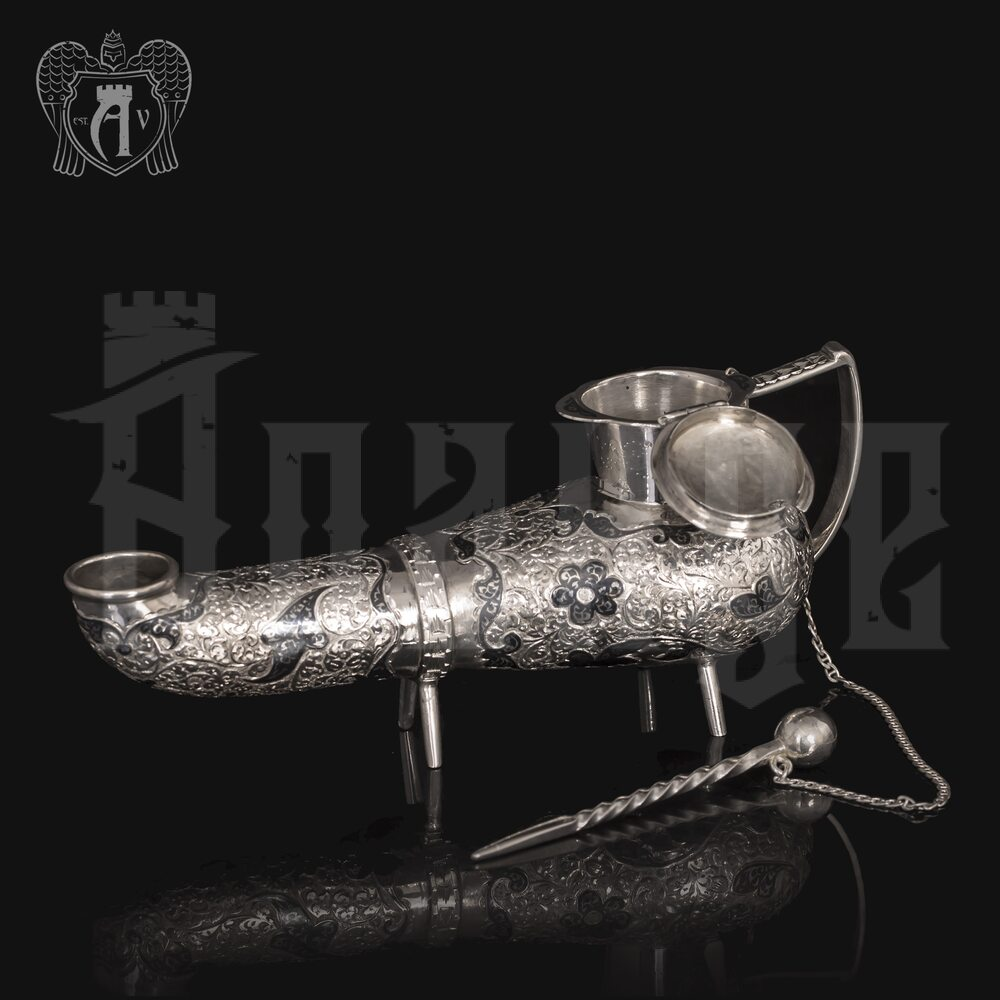 Лампада из серебра (чайник) Апанде, 2220001