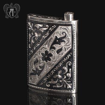 Серебряная фляжка  «Этнос»