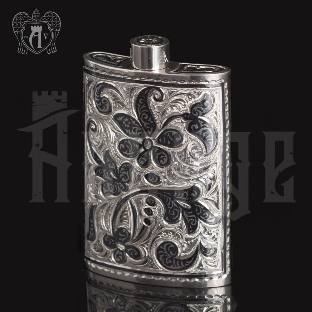 Серебряная фляжка  «Персей»  Апанде, 72000185