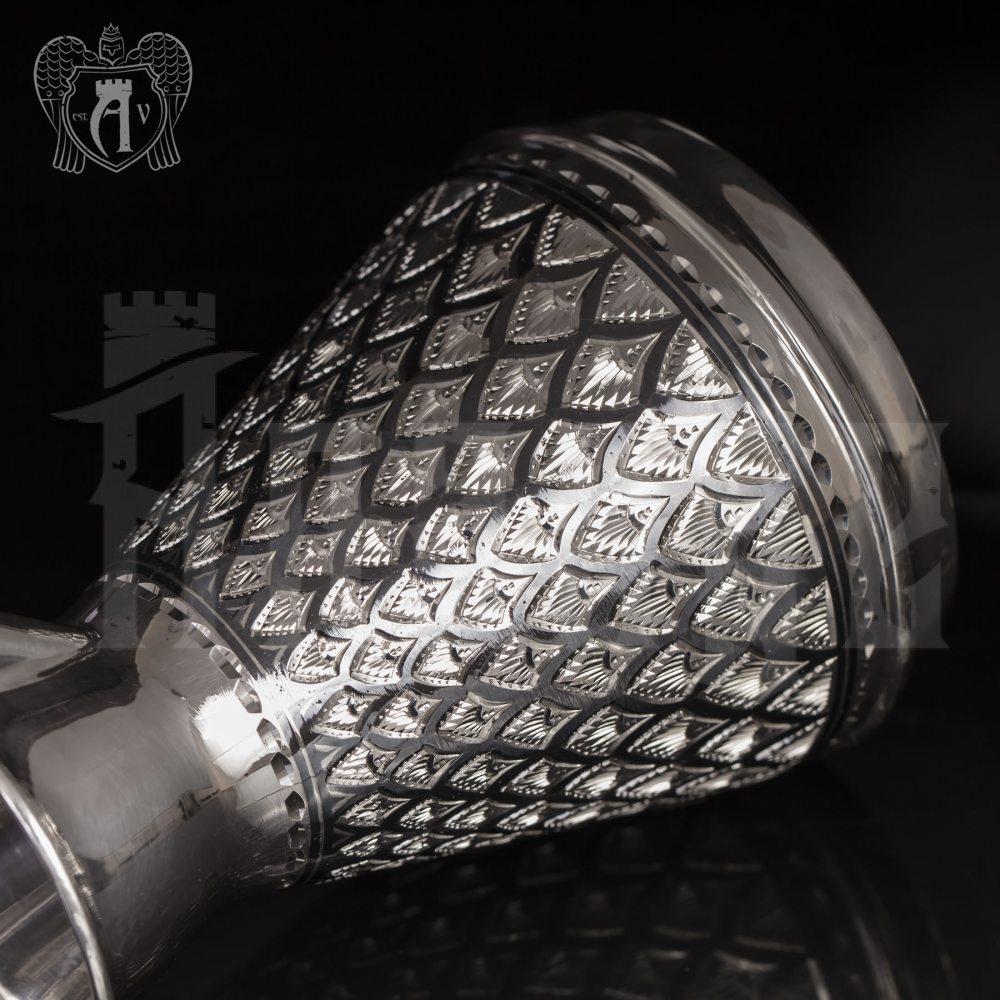 Турка из серебра «Хризолит» Апанде, 3900014