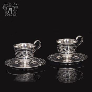 Набор кофейных чашек  «Кофеман» 2 шт