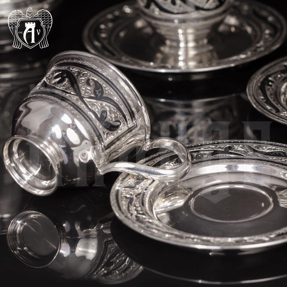 Набор кофейных чашек  «Кофеман» 2 шт Апанде, 32009118