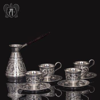 Кофейный набор  «Кофеман» 5 предметов
